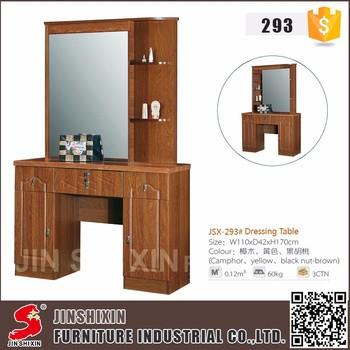 Mobilier de chambre moderne en bois enfants coiffeuse avec for Coiffeuse moderne avec miroir