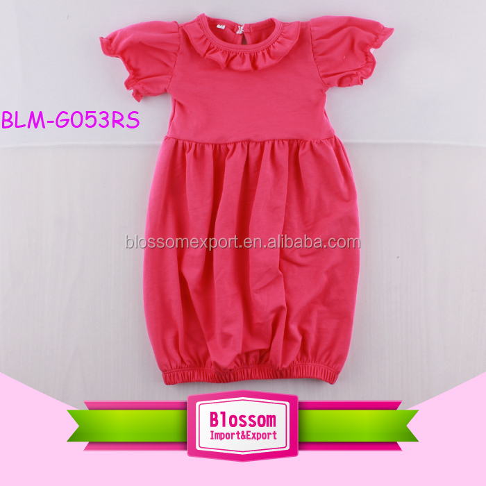Pictures Of Latest Gowns Designs Watermelon Puff Sleeve Bubble Girls ...