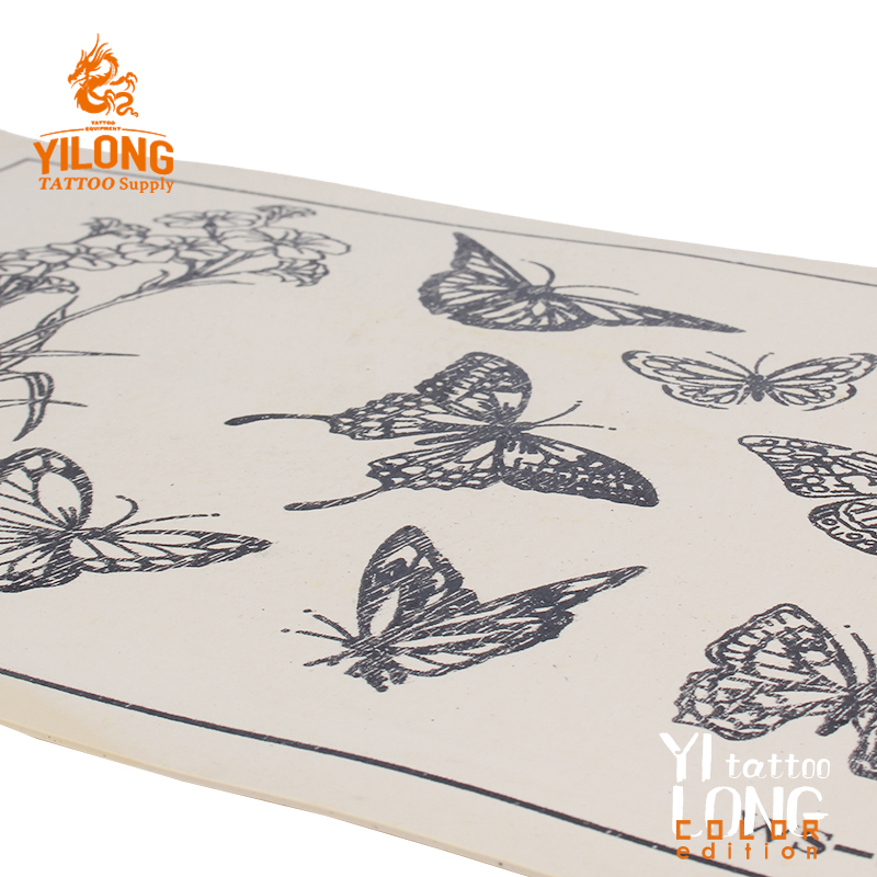 Yilong High Quality Permanent Make Up Tattoo Practice skin,butterfly-100g (20cm*30)