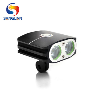 SANGUAN 2000 Lumen Battery Powered Mountain XML LED Bike Light