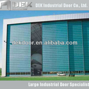 Germany Technic Industrial Steel Sliding Door