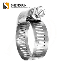 Stainless Steel American Style Type Adjustable Tube Pipe Hose Band Clamp Manufacturer