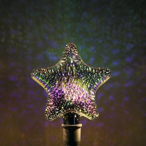 Colorful Edison dream Fantasy firework 3d star LED bulb
