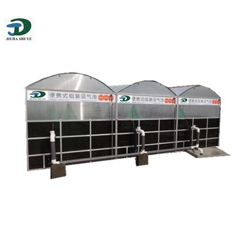 High Efficient Home Biogas Digester - Buy Small Biogas Plant,Domestic  Biogas Plant,Household Biogas Plant Product on Alibaba com