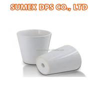 Sublimation Blanks Sublimation Cone Ceramic Flower Pot Vase