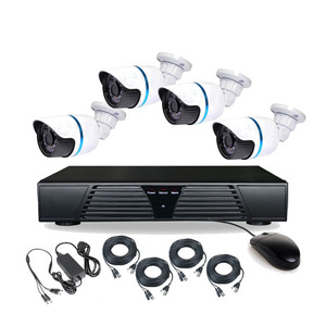 Very very hot sales wholesale home security 4pcs ahd cctv camera full hd 1080p dvr h 264 Besnt BS-T04AD8