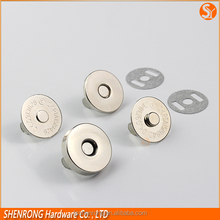 Luggage bag parts strong magnetic button automaticly shut and open