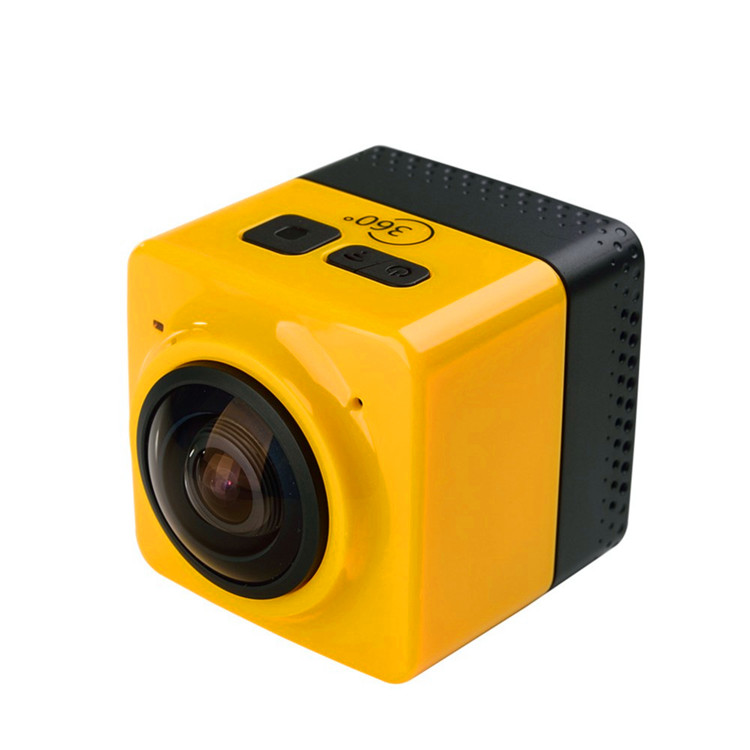Brand new yi 4k action camera with waterproof case