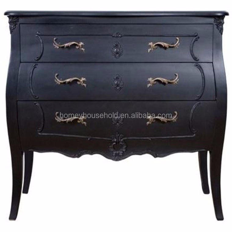 Hoogglans Moderne MDF Rococo Stijl Commode