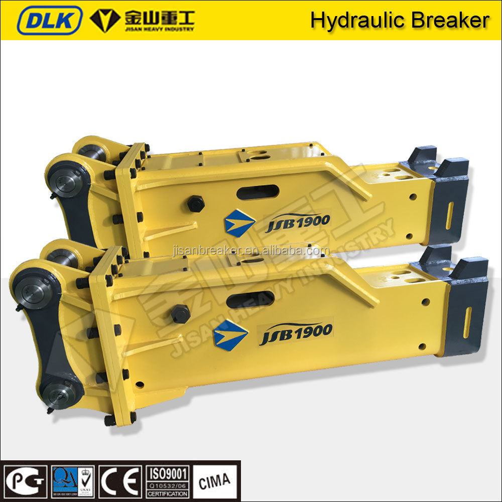 SB81 20ton box silence hydraulic rock breaker suitable 20ton to 26ton excavator