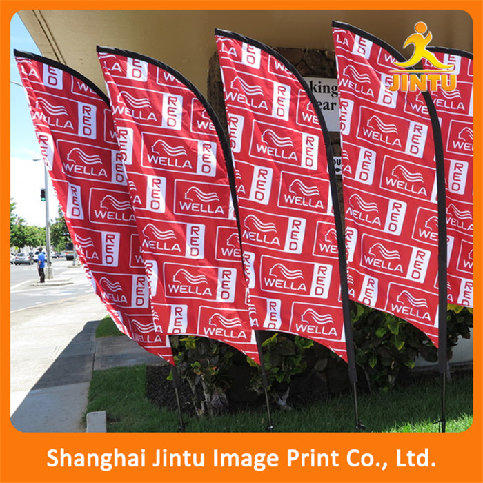 2017 Outdoor Advertising Beach banner wing flags buggy whip flag
