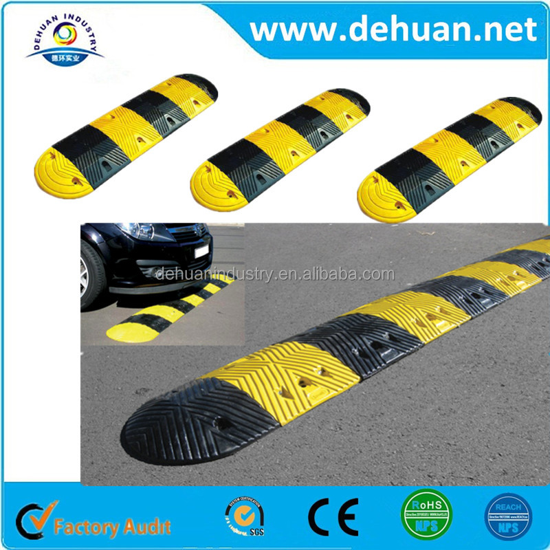 high quality Road Speed Hump/Rubber Speed Bump/Plastic Reflective Speed Hump