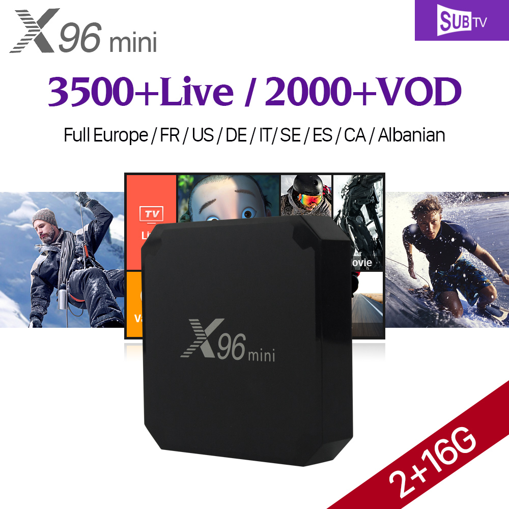 X96 MINI <strong>2G</strong> RAM 16G ROM <strong>Android</strong> 7.1 <strong>TV</strong> <strong>Box</strong> APK Download <strong>Android</strong> <strong>TV</strong> <strong>Box</strong> with SUBTV 1 Year