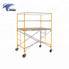 Ladder Frame Scaffolding System Main Frame with Cross brace