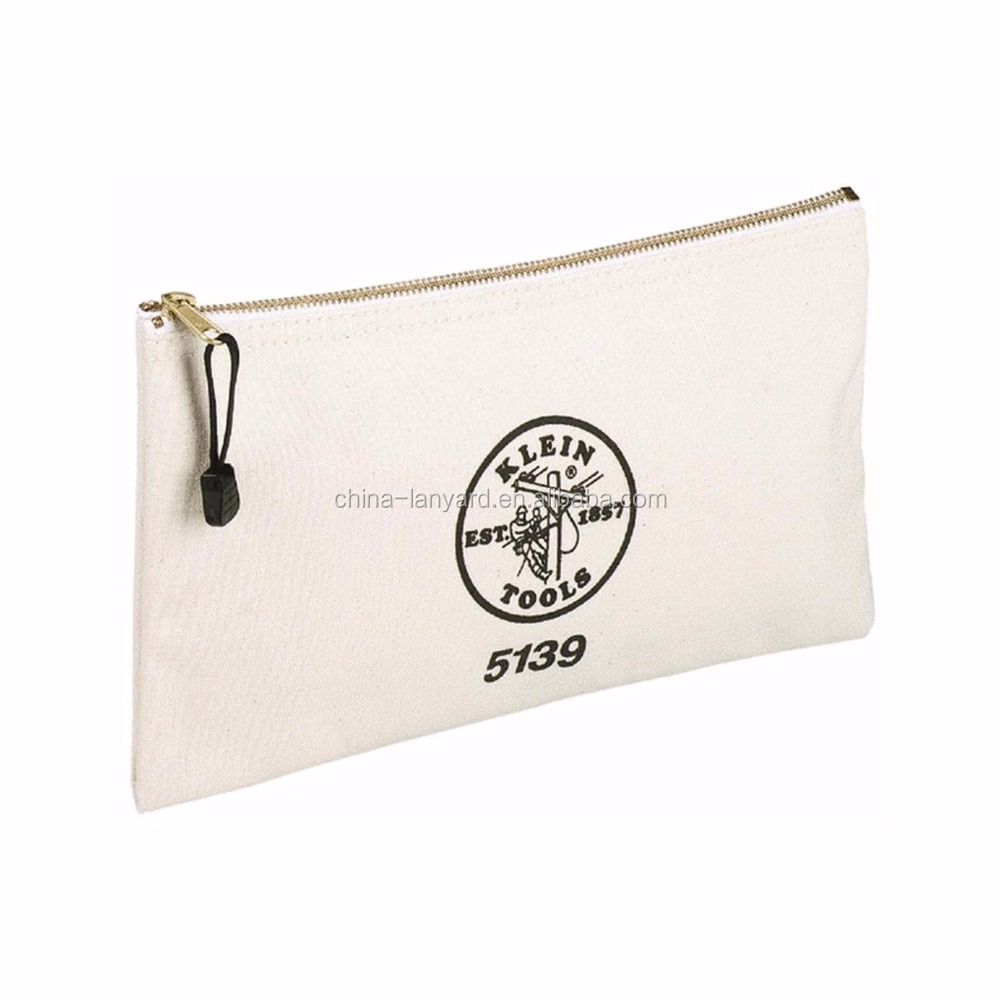 wholesale canvas zipper pouch