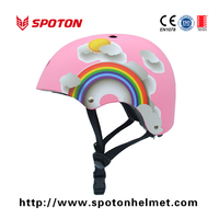 Promotional New model custom skate helmet with high density EPS foam , ABS shell