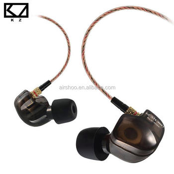 Original KZ ATE-S In Ear Earphones HIFI KZ ATE S Sport Earphone With Mic Sport auriculares Super Bass Noise Canceling earphones