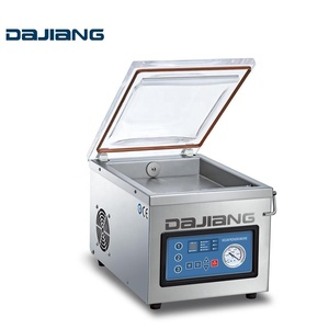 DZ-260 HOME INDUSTRY FRUIT VEGE TABLE VACCUM PACKING MACHINE Packing food machine Plastic food container Hand sealer machine