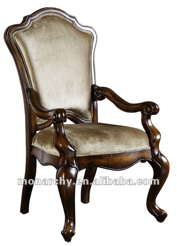 D0023-47 sillones de madera antigua clásica de madera maciza de ...
