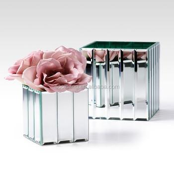 Wholesale Mirrored Glass Flower Vases For Orchid Vaserose Vase