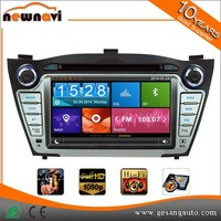 7'' touch screen car mp3 cd player with bluetooth function, steer wheel control, Phone link for HYUNDAI iX35/TUCSON/TUCSON IX