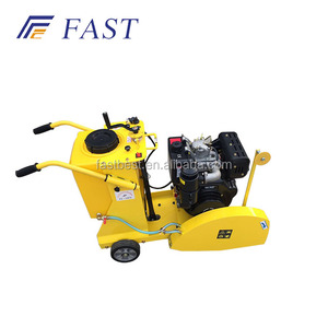Asphalt Road Cutter Machine Loncin 14hp cutting saw machine