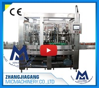 MIC-24-6 Chinese good supplier CE standard Canned olive oil filling line