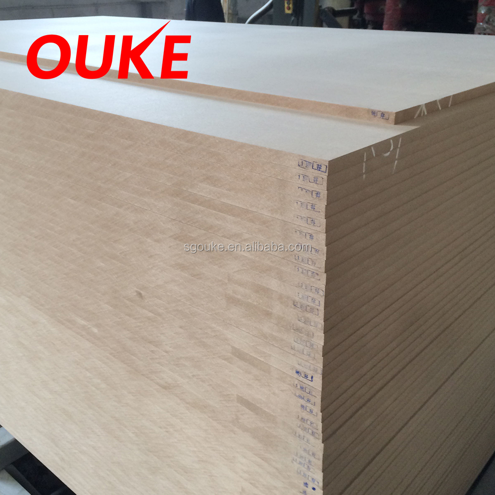 18mm raw mdf board
