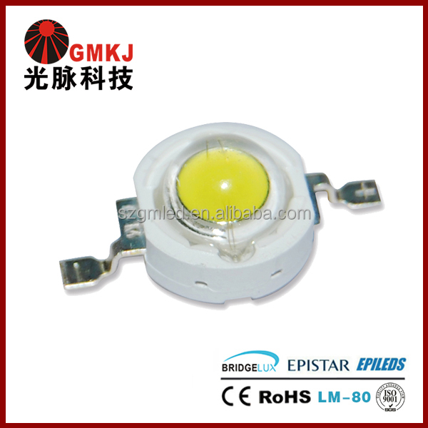 Factory Low Price 1 Watt High Power LED Chips 150lm/w