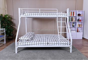 Best Quality Space Saving Home Furniture Family 3 Person Triple Bunk