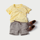 Wholesale boys t-shirt+shorts 2pcs set baby children clothing