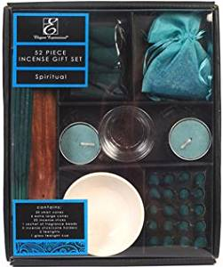 Aromatherapy Hosley® Spiritual Scented Premium Gift Pack, 52 Pieces Highly Scented Incense. Hand fragranced, infused with essential oils. Ideal Gift for Aromatherapy, Zen, Spa, Vastu, Reiki Chakra Settings.