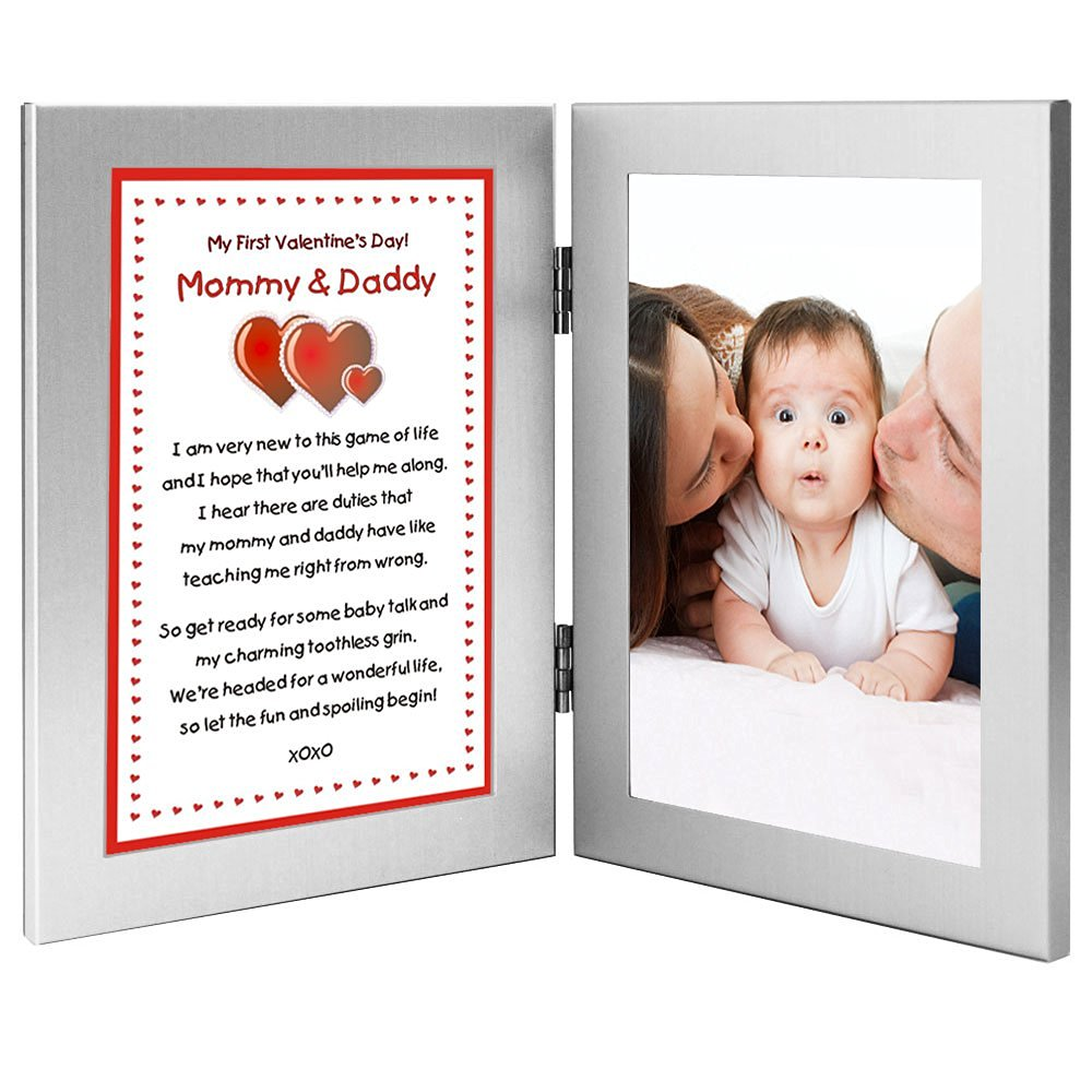 Buy Celebrate Babys First Valentines Day Poem From Baby To Parents