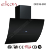 CE GS SAA CB C-Tick approved 90cm premium slide out tempered glass european style 1000m3/h air flow auto open cooker hood
