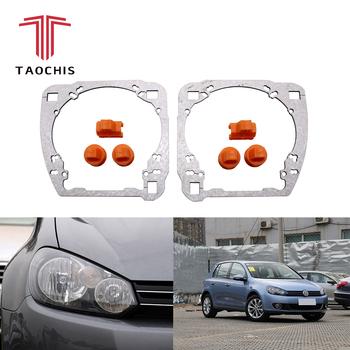 Taochis Retrofit Adapter Frame Headlight Bracket For Vw Volkswagen Golf 6  Hella 3r G5 5 Koito Q5 Projector Lens - Buy Adapter Framework,Retrofit