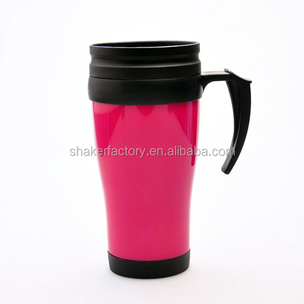Insulated Plastic Coffee Mugs With Handles Supplieranufacturers At Alibaba