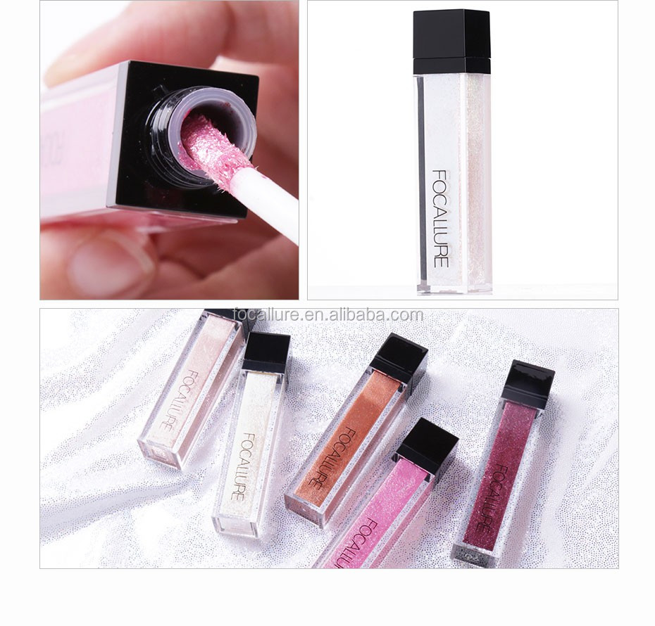 Focallure Trending Makeup Products 2018 China Cheap Cosmetics Glitter And Glow Liquid Eyeshadow Ttwestern Unionpaypal
