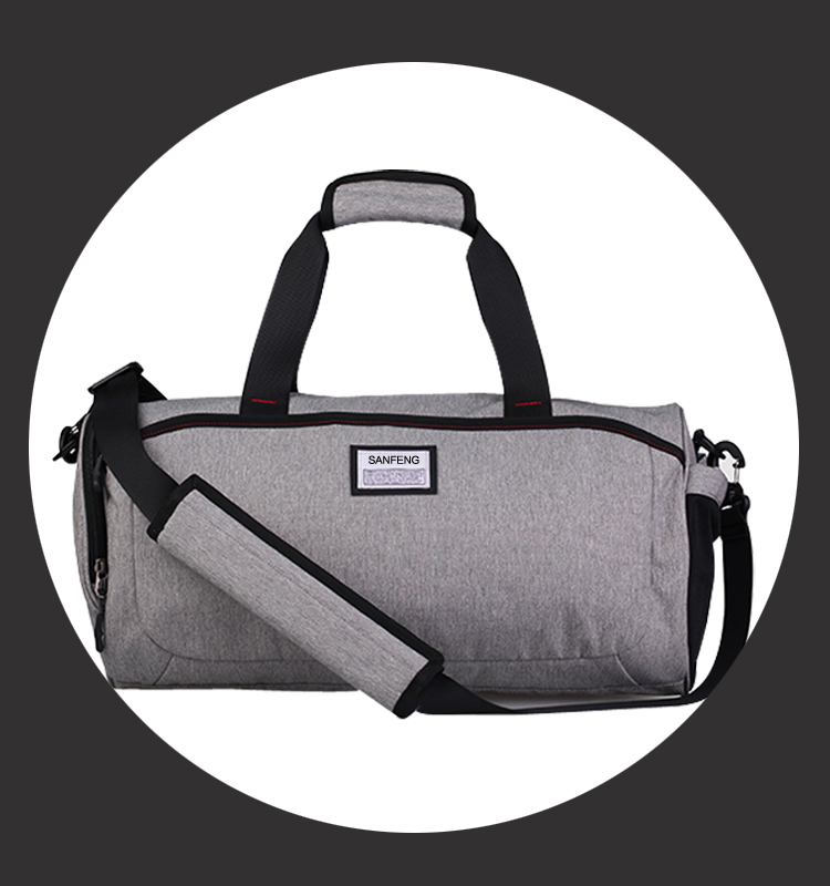 Waterproof Gym Sports Bags With Shoe Compartment, Custom Lightweight Sports Tote Duffle Bag Manufactuer