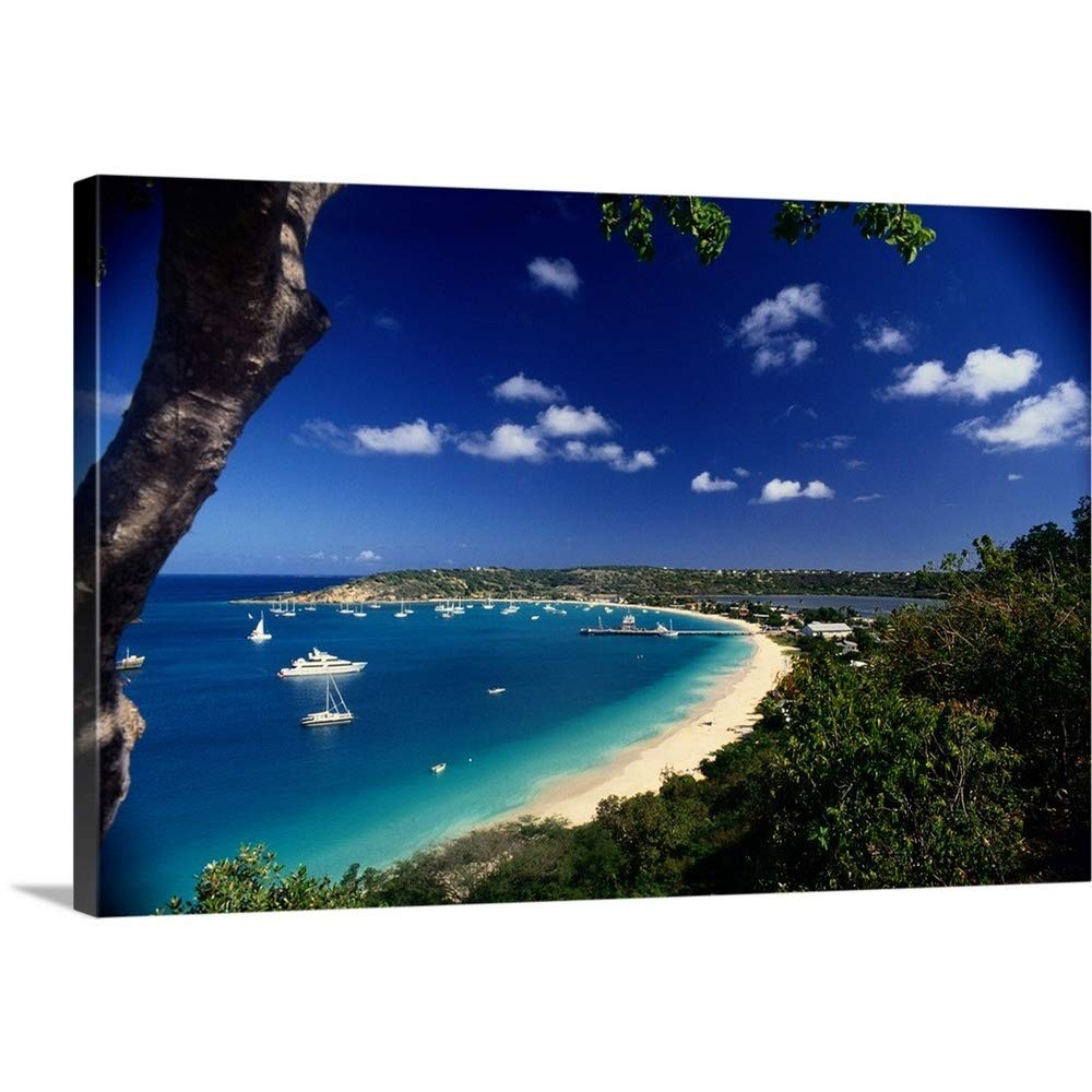 """Great Big Canvas Gallery-Wrapped Canvas Entitled View Sandy Ground 48""""x32"""""""