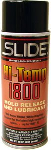 SLIDE HI-TEMP 1800 Mold release and lubricant with Boron Nitride