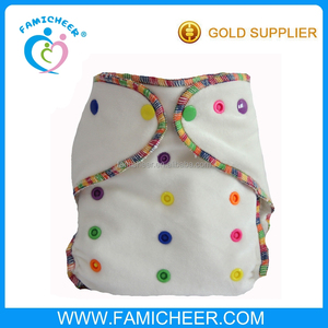 Famicheer Washable Hemp Fitted Cloth Diapers Manufacturers