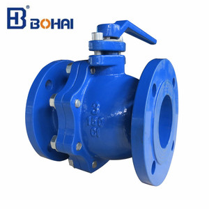 Casting steel material 10000 WOG threaded connection flanged connection 2 pc ball valve