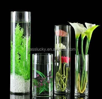 Vase And Glass Cylinder As Clear Glass Vase For Decoration Buy Vase Glass Cylinder Glass Vase