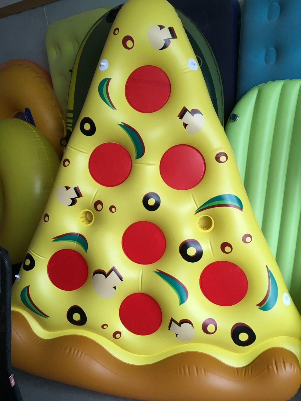 New Arrival Pizza Pool Float Inflatable Pvc Water Floating Air ...