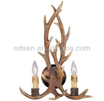 old fashioned antler wall lighting lamp buy antler