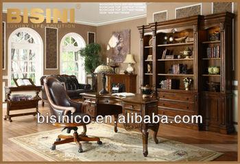 Libreria Vetrina Ufficio : Ufficio a casa studio mobilia della stanza lettura privata set di