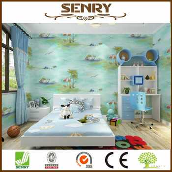 Seaside Landscape Natural Wall Mural Photo Wallpaper For Child Room