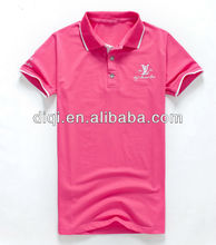 new style stretched polo shirts , t-shirt for men,plain color tee
