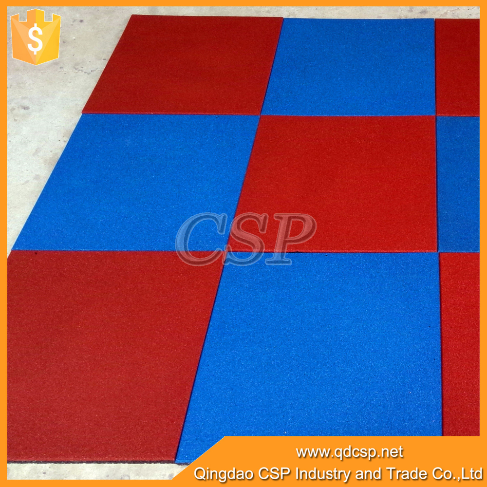 Cheap price rubber floor mat for garge and playground