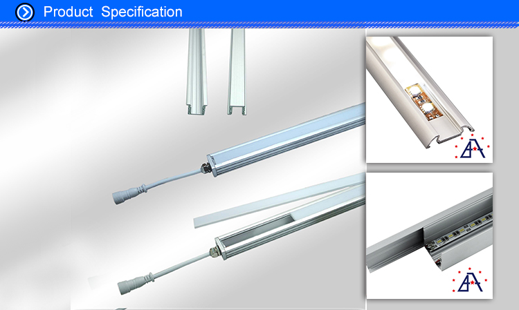 Foshan Manufacturer supply Milled Surfaces extruded aluminum